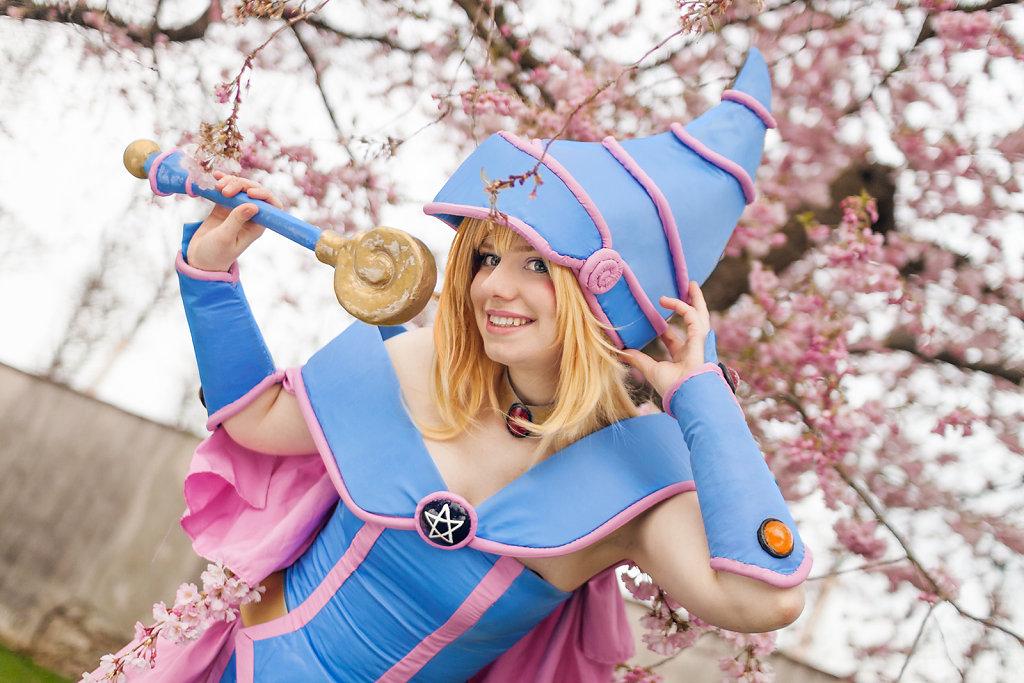 Me as Dark Magician Girl from Yu-Gi-Oh!